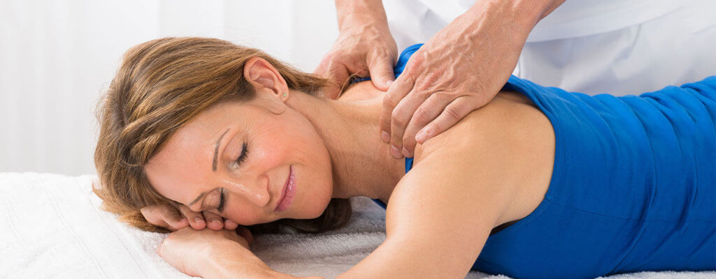 Neck and back pain massage therapy