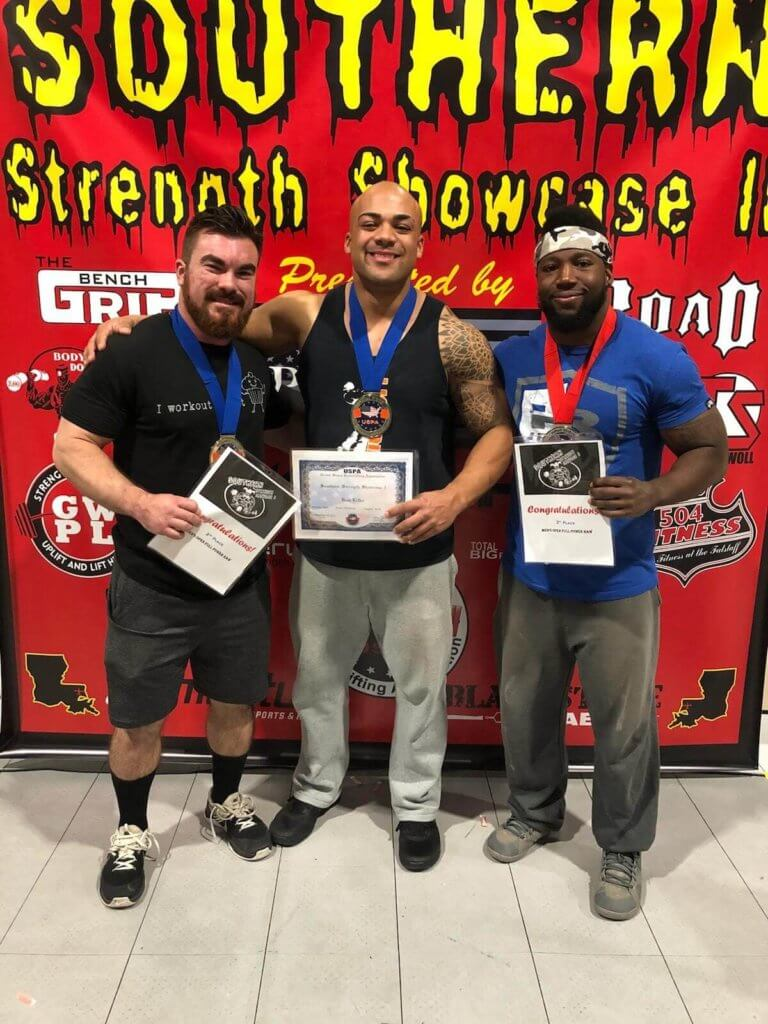 Latest Strength Competition