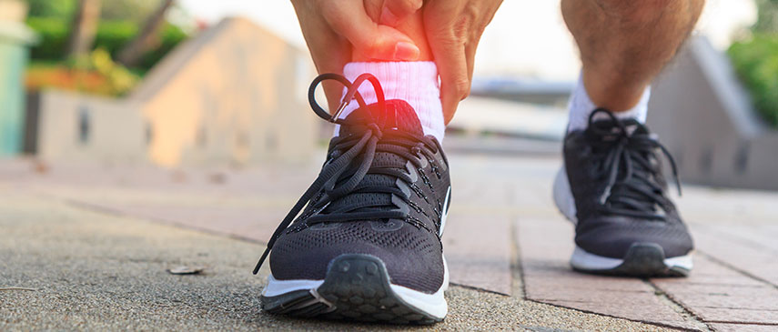 Sprains, Strains and Ankle Pain