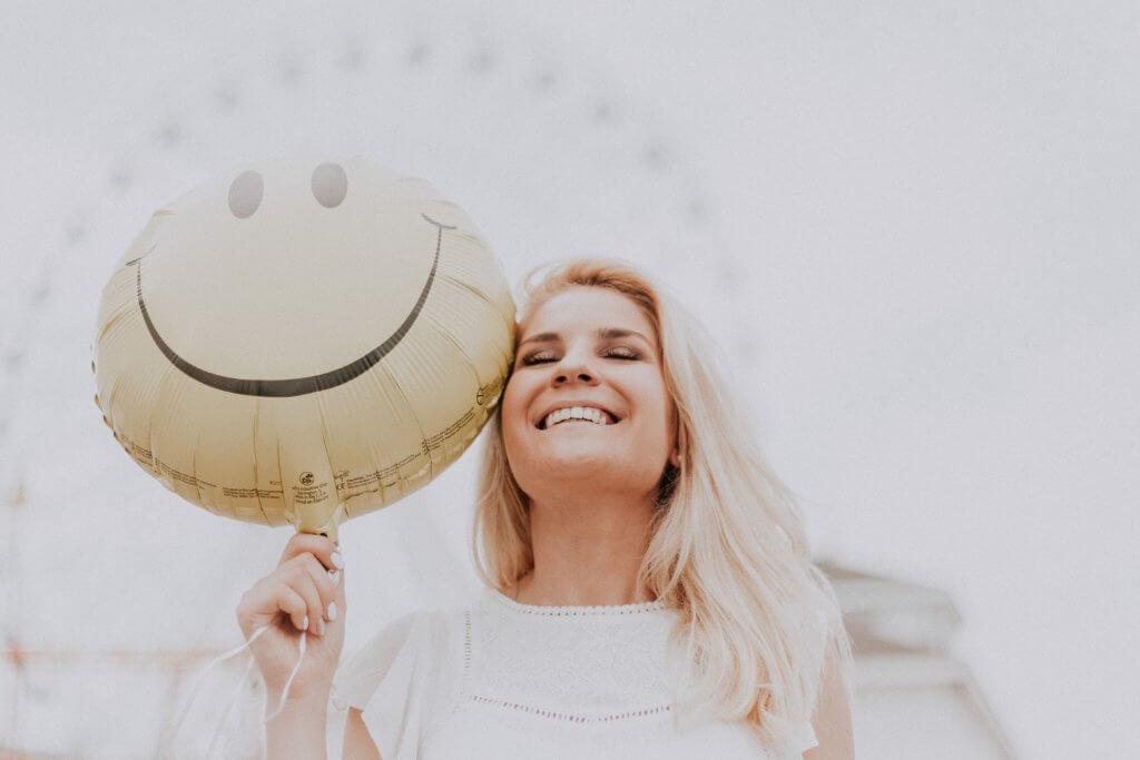 Happy person– good mood!